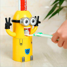Load image into Gallery viewer, Minions toothpaste dispenser