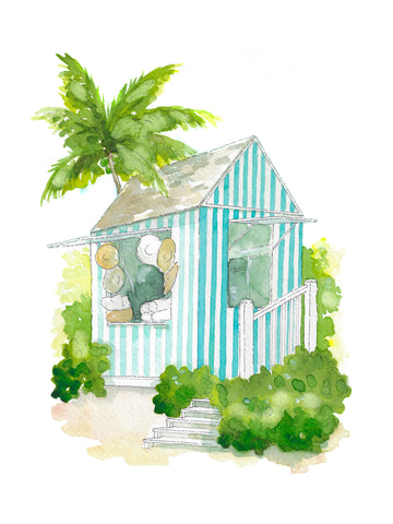 Amanda Lindroth Island Hopping + Aldous Bertram Illustration