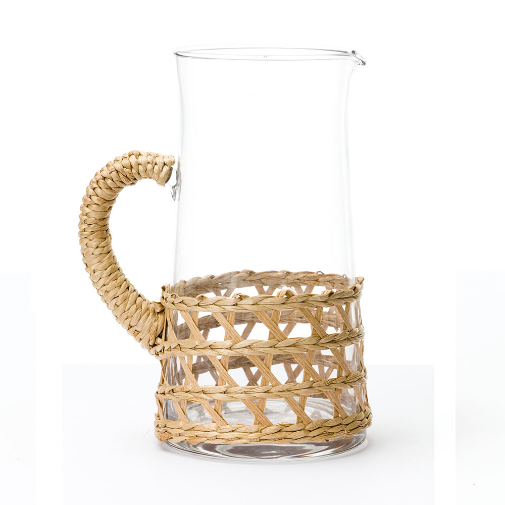 island wrapped pitcher large natural