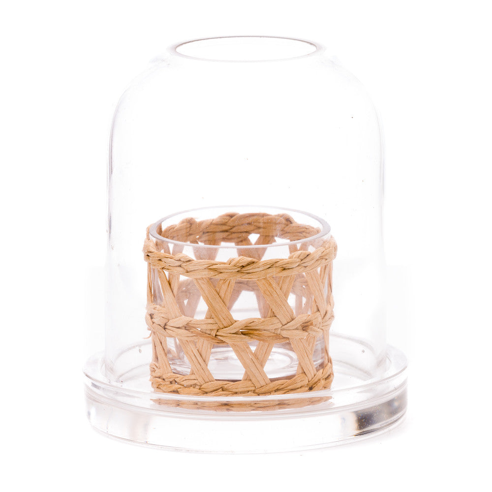 Domed Island Wrapped Votive