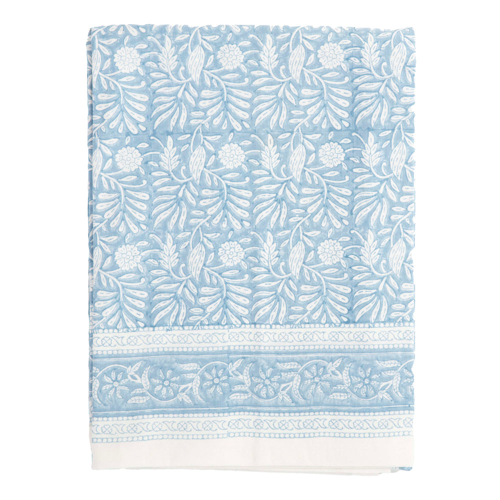 "jasmine large tablecloth in blue (60"" w x 120"" l)"