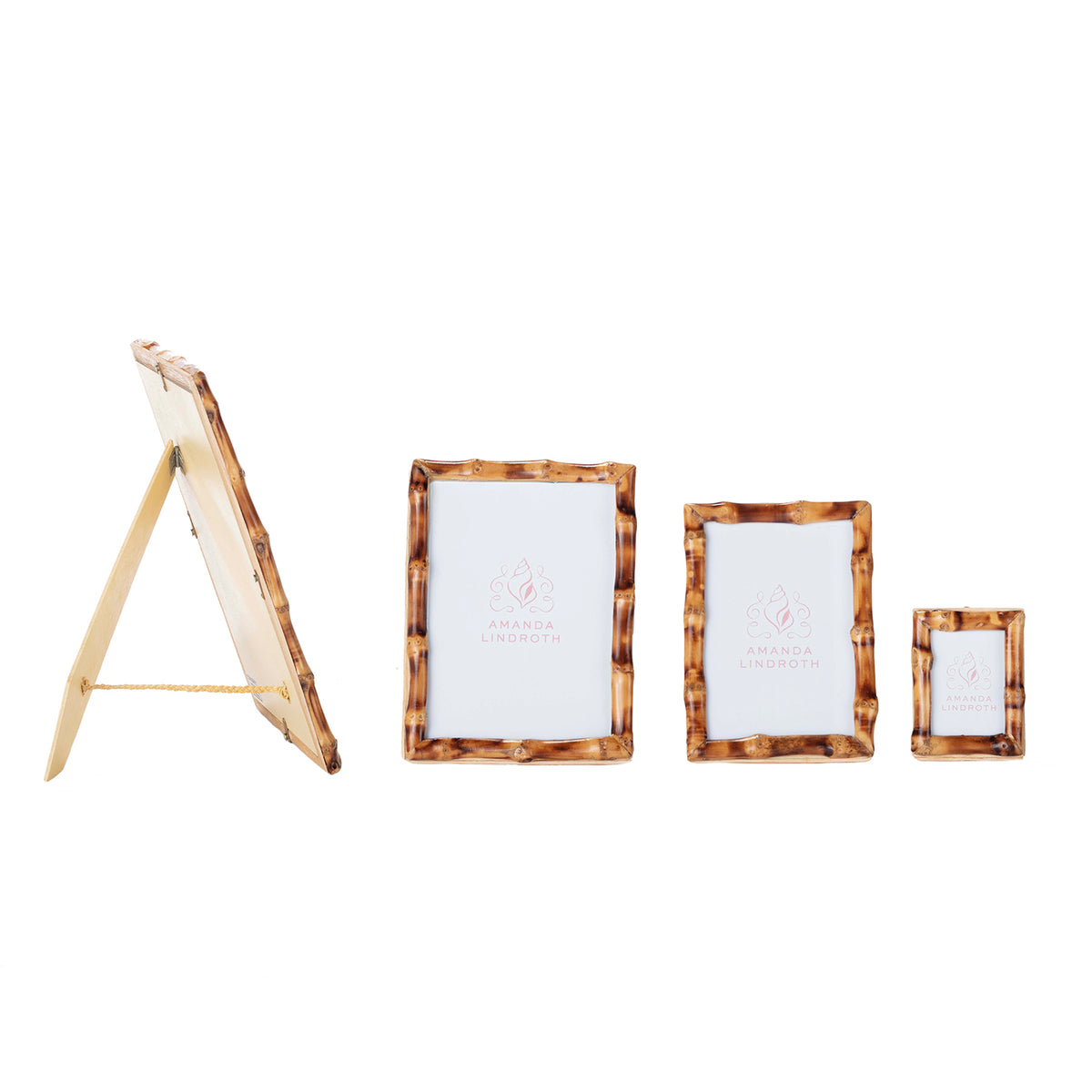 Short Knot Bamboo Picture Frames