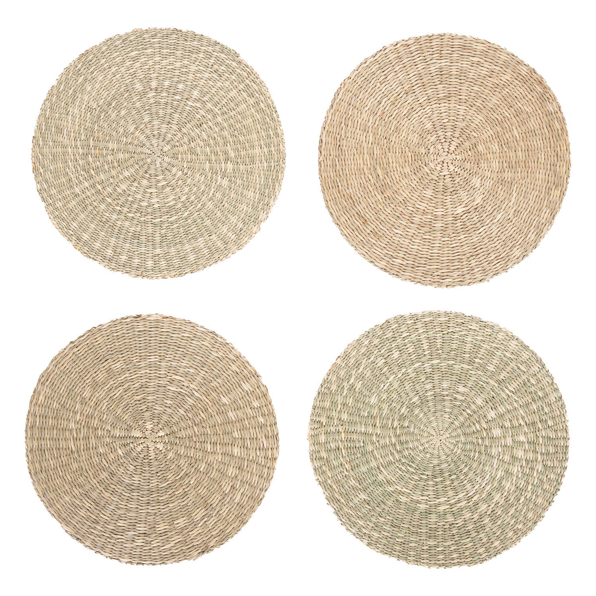 Spiral Placemats Natural, Set of 4