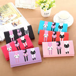 3 LITTLE CATS LONG CLUTCH & WALLET (BRIGHT COLORS)