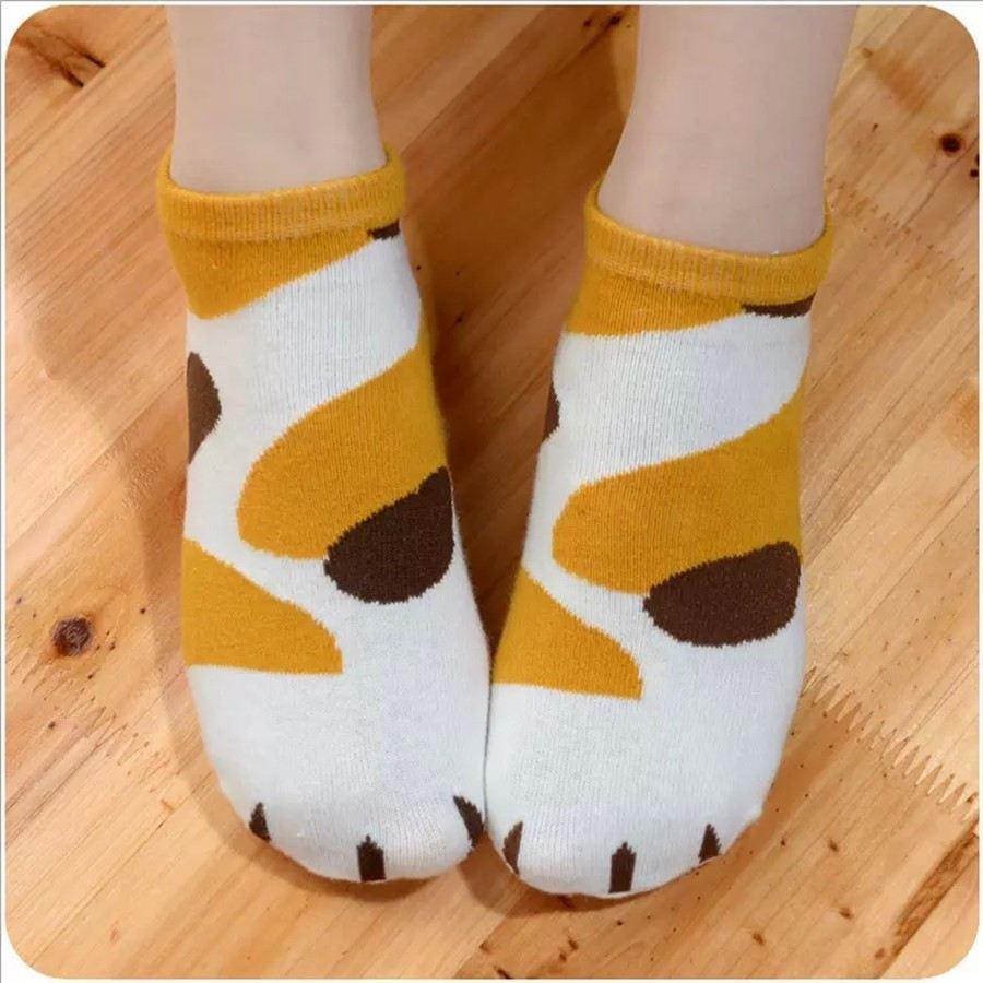 CUTE CAT PAW ANKLE SOCKS
