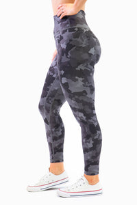 The Gemini Legging - Camo Print - Women's Petite Leggings - Avo Activewear Ltd