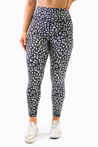 The Gemini Legging - Leopard Print - Women's Petite Leggings - Avo Activewear Ltd