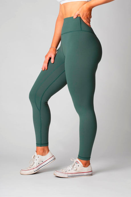 The Senara Legging - Matcha Green *New Release* - Women's Petite Leggings - Avo Activewear Ltd