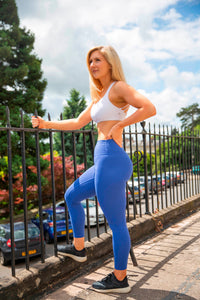 The Senara Legging - Sapphire Blue - Women's Petite Leggings - Avo Activewear Ltd
