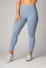 Load image into Gallery viewer, The Senara Legging - Misty Blue - Women's Petite Leggings - Avo Activewear Ltd