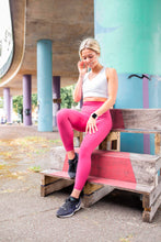 Load image into Gallery viewer, The Senara Legging - Raspberry Red - Women's Petite Leggings - Avo Activewear Ltd