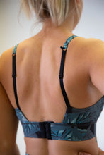 Load image into Gallery viewer, The Gemini Bra - Leaf Print - Avo Activewear Ltd