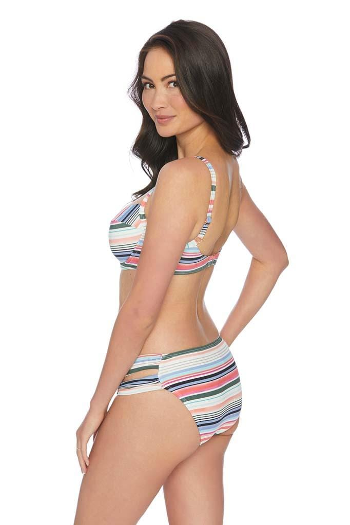 Color Coded Underwire Bikini Top