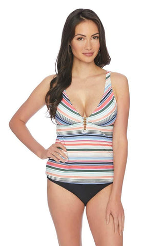 Stardust Double Up Tankini Top
