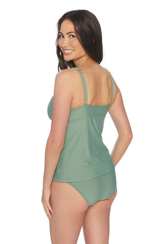 Samba Solids High Neck Ruffle One Piece