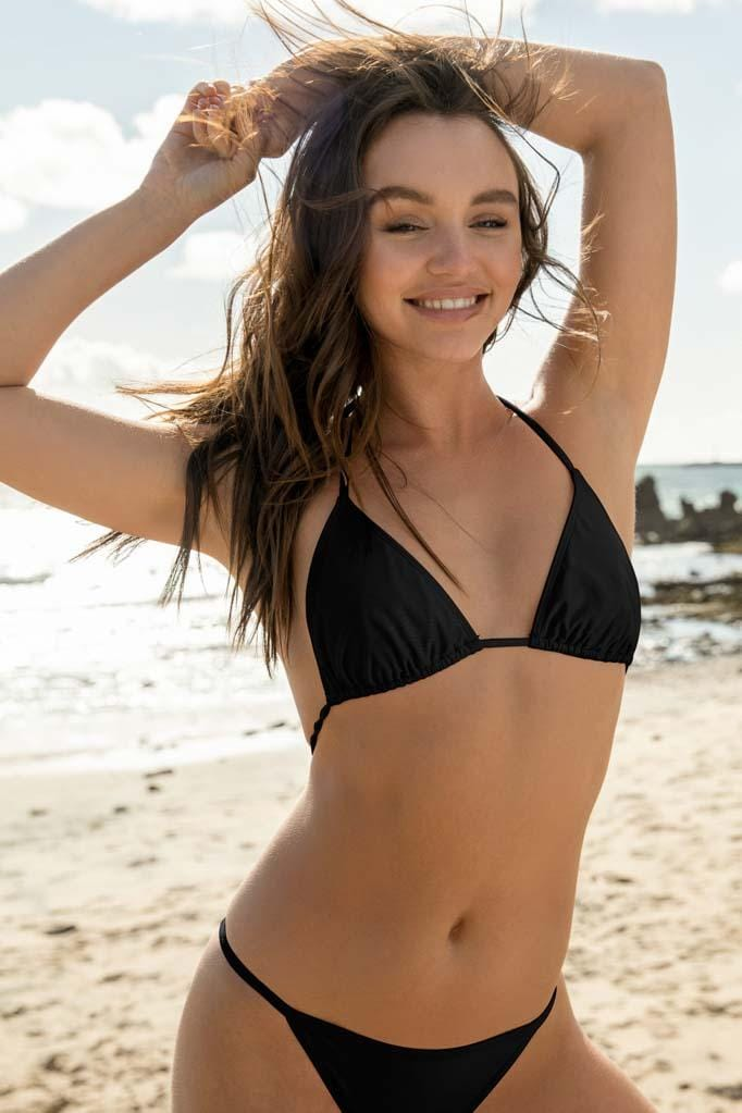 Solids Triangle Bikini Top