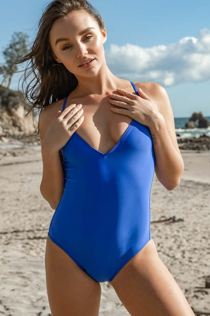 Solids Strappy Back One Piece