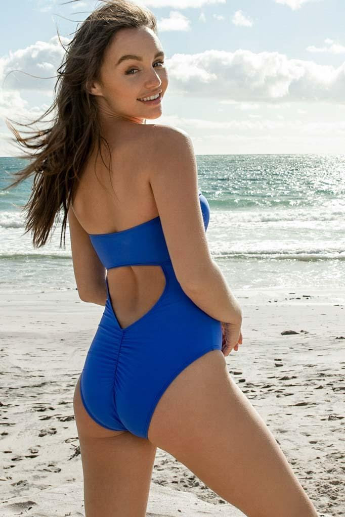Solids Bandeau One Piece