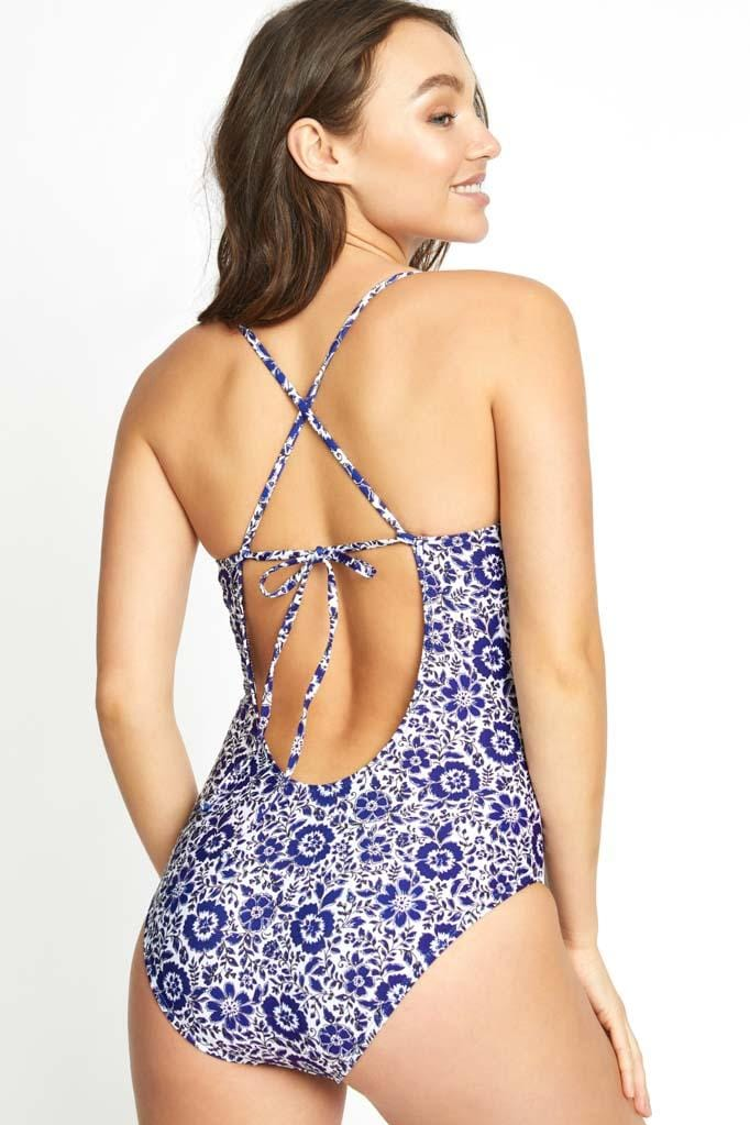Check Please Strappy Back One Piece