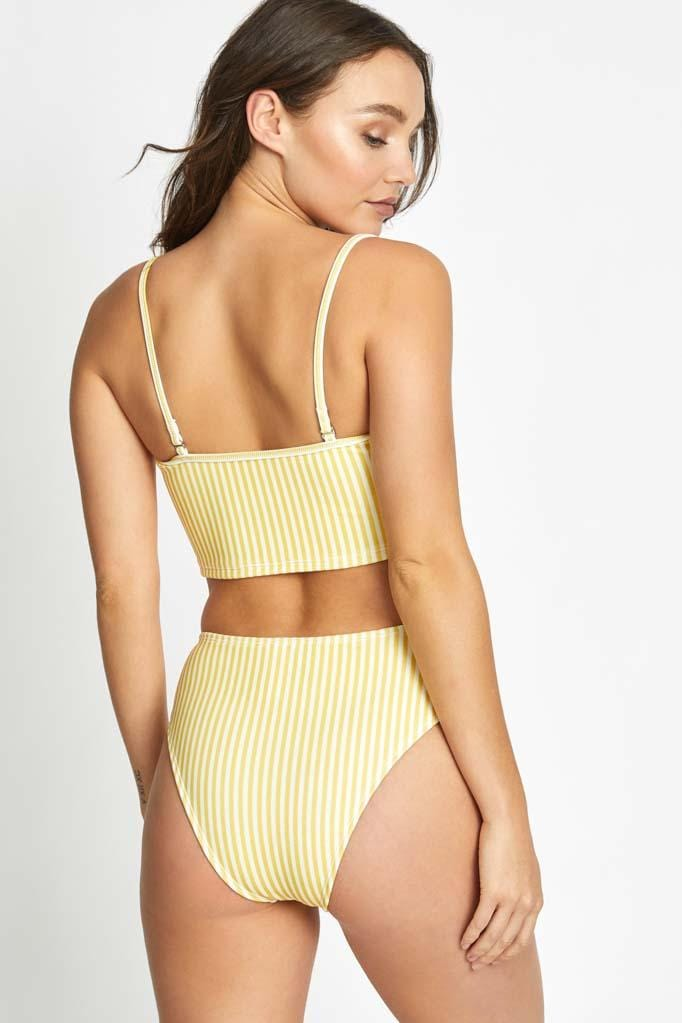 Honey Crop Top & High Waist Bottom Set