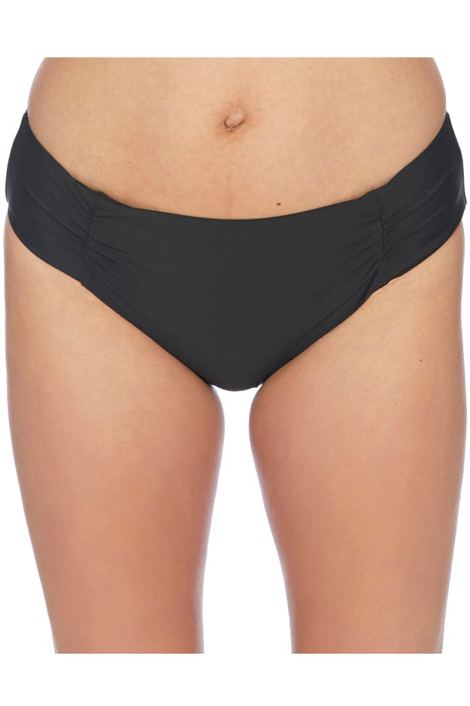 Samba Solids Shirr Side Bikini Bottom