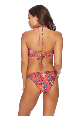Joy Rider Serene Ruched Retro Bikini Bottom