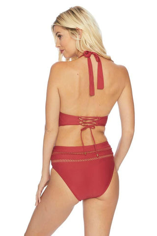 Frida Twist Side Strap Bikini Bottom
