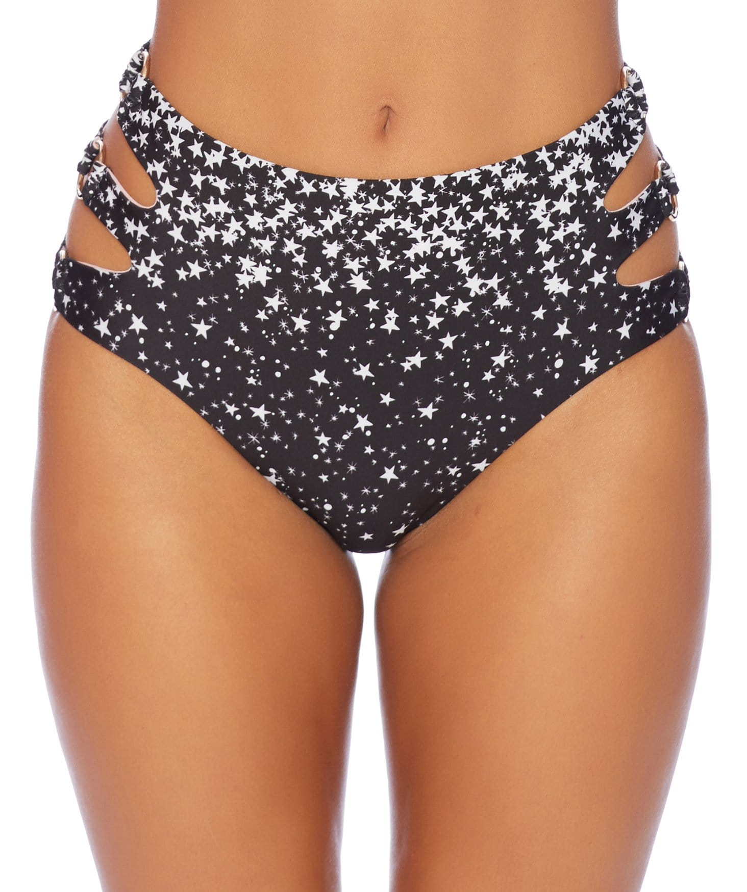 Star Girl High Waist Bikini Bottom