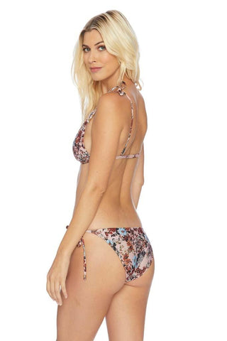 Dashing Dots Ruffle Side Bikini Bottom
