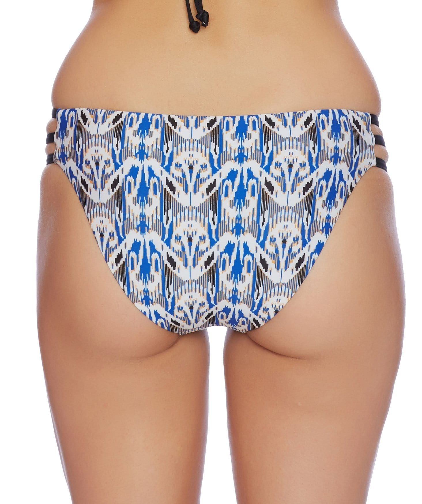 Tribal Romance Strap Side Bikini Bottom