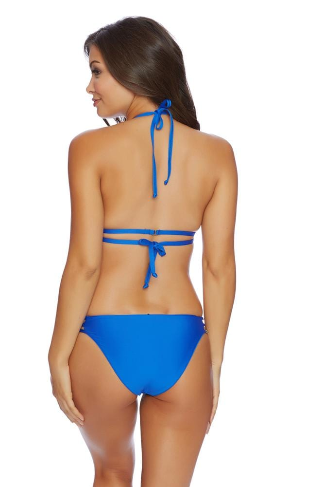 Juliet Solids Side Strap Bikini Bottom