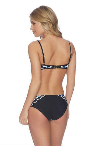 Doux Tonga French Cut Tie Side Bikini Bottom