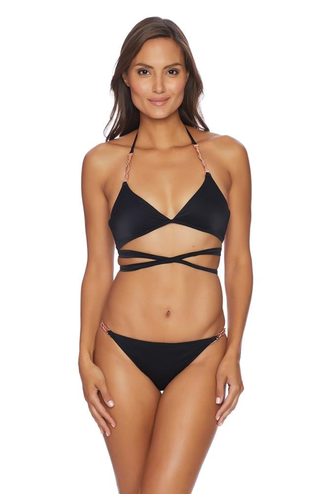 Liquid By Luxe Wrap Bralette Top