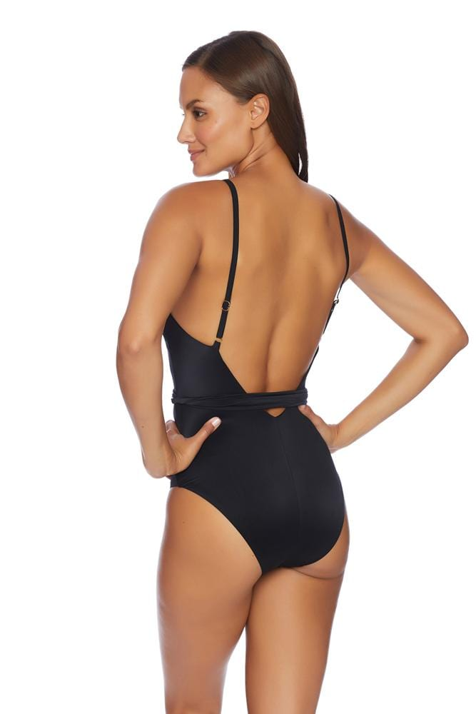 Liquid By Luxe Wrap Maillot