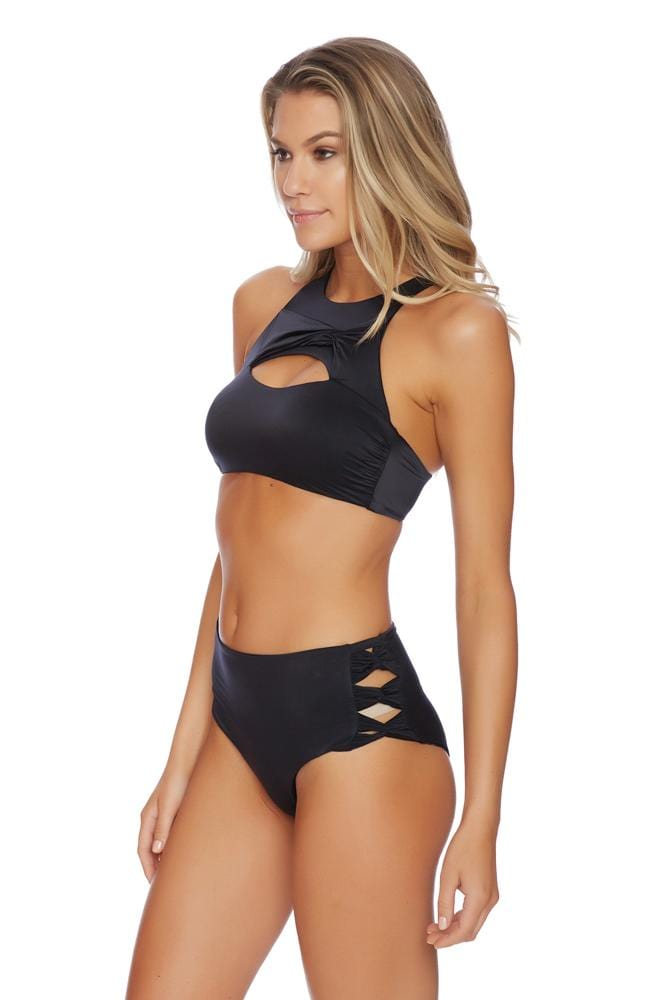 Liquid by Luxe Twist High Waist Bottom