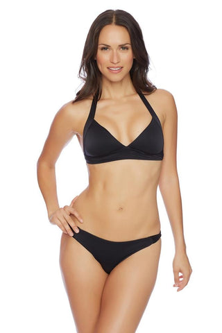 Ainsley High Neck Wrap Bikini Top