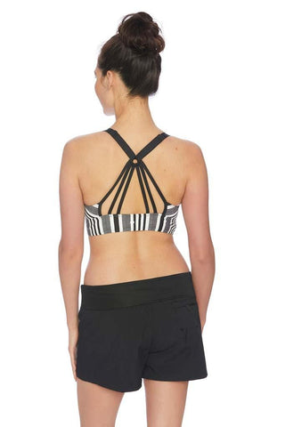 Zen Garden Third Eye 3 Shirr Tankini Top