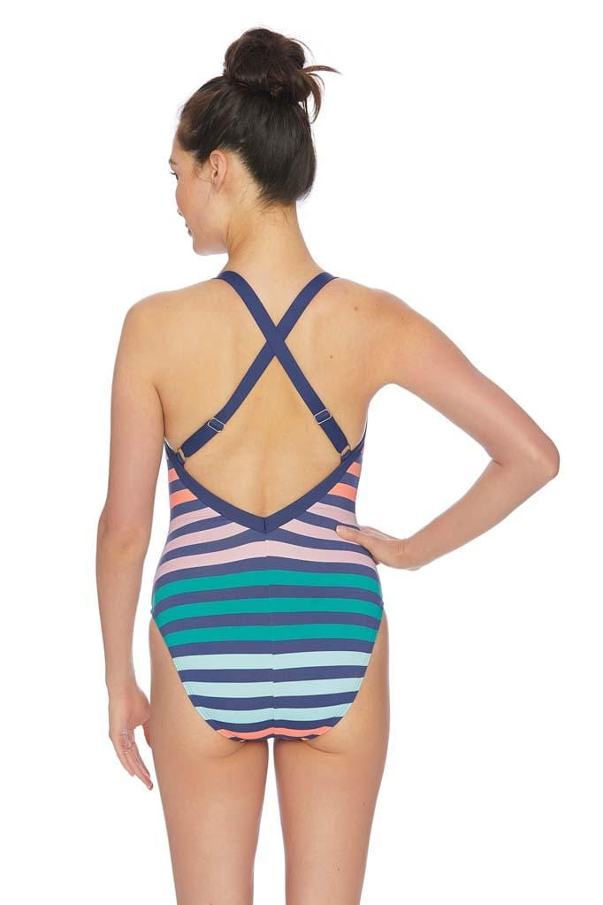 Stripe Impact Plank One Piece