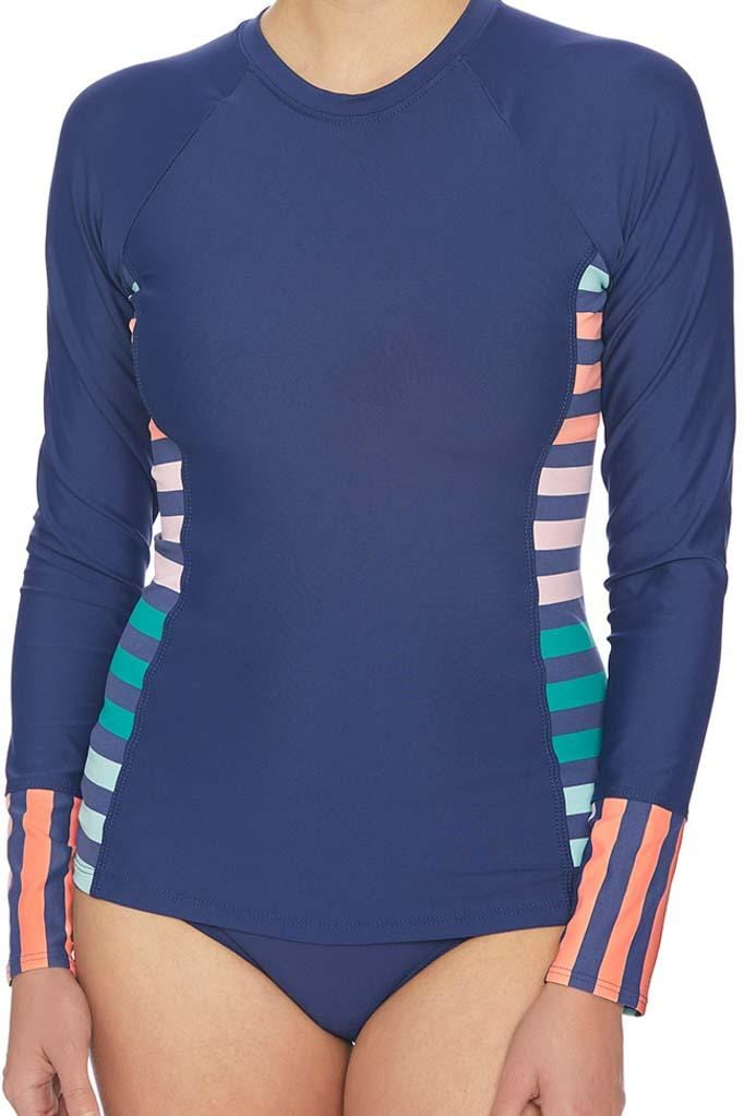 Stripe Impact Detox Surf Shirt