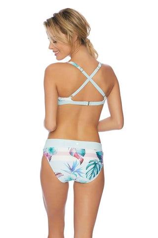 Meshed Up Retro Bikini Bottom