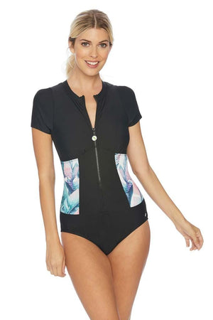Summer Shade Malibu Zip One Piece