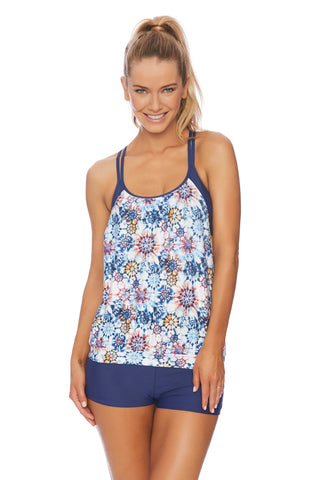 Tropic Vibration Third Eye 3 Tankini Top