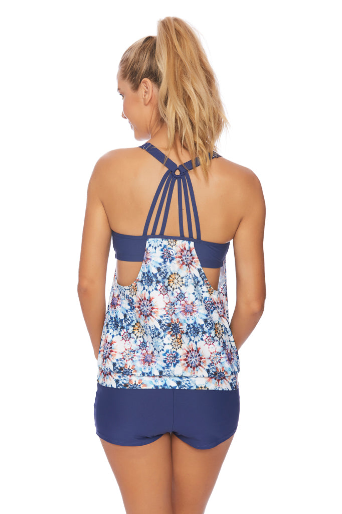 Rising Sun Double Up Tankini Top