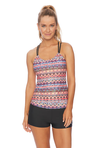 Daylight Daze Double Up Tankini Top