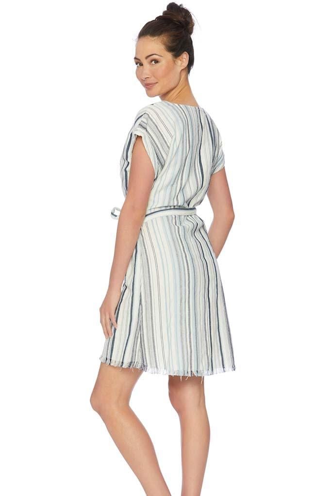 Line of Sight Wrap Dress