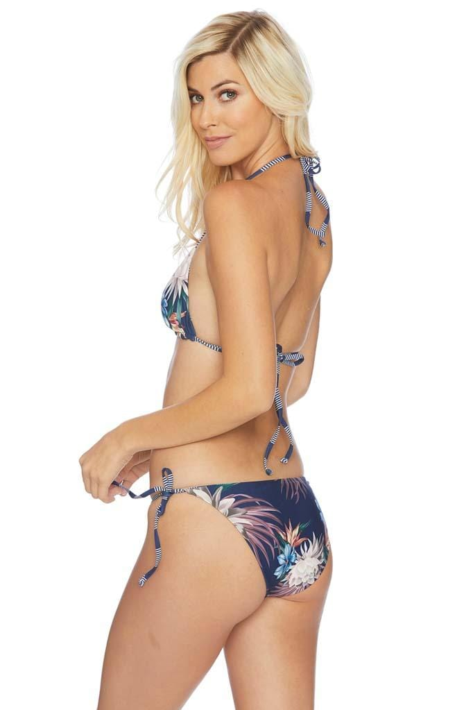 Long Lines Tie Side Bikini Bottom