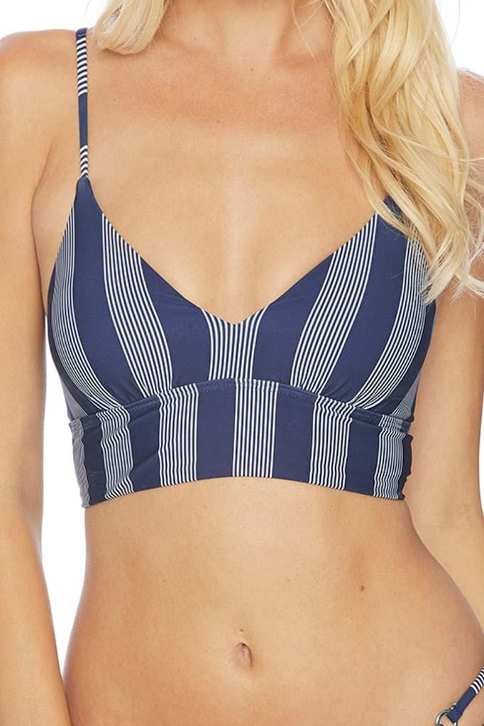 Long Lines Crop Bikini Top