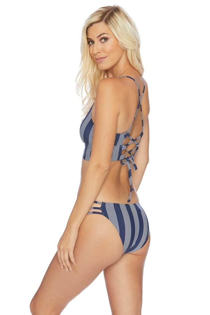 Long Lines Side Strap Bikini Bottom