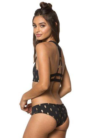 Checkmate Down to Earth Ladder Back Bikini Top