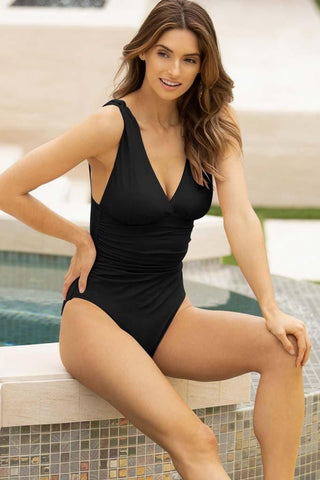 Holding Pattern Bandeau One Piece